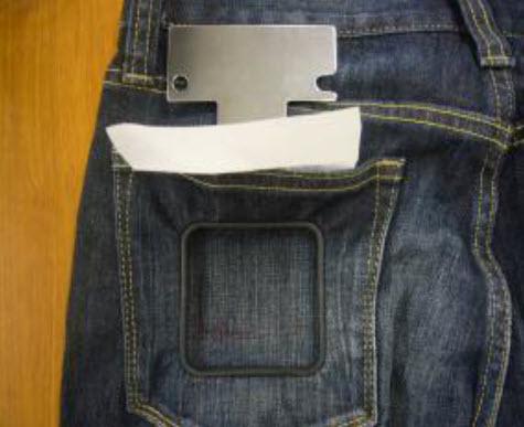 Cadre à brother pour machine Brother VR pour grande poches jeans