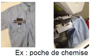 Cadre à broder pour machines Brother VR pour poches de chemise