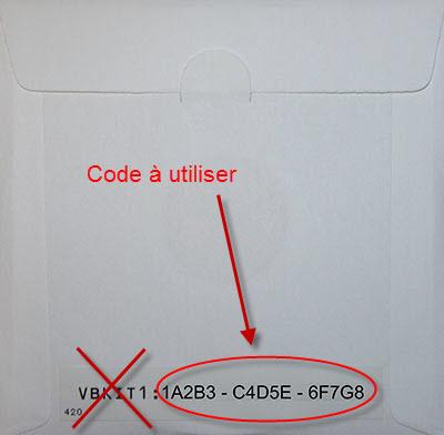 Code de mise à jour Brother Premium Pack 1