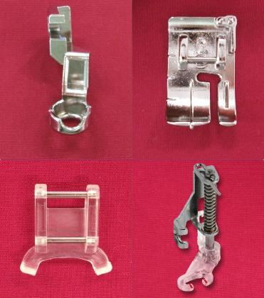 Pieds inclus dans le kit de mise à jour Janome Horizon Memory Craft 9400QCP