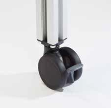 Kit roulettes pour faciliter le repositionnement Q24 long arm bernina