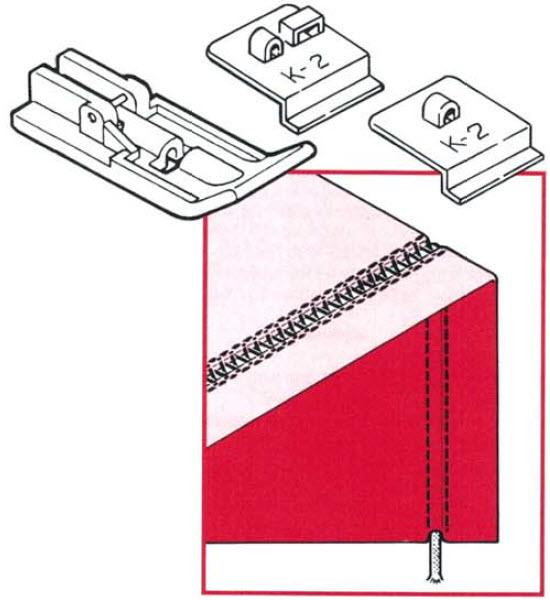 Guide pied ruban, nervure, cordonnet, fil de peche K2 finition.jpg