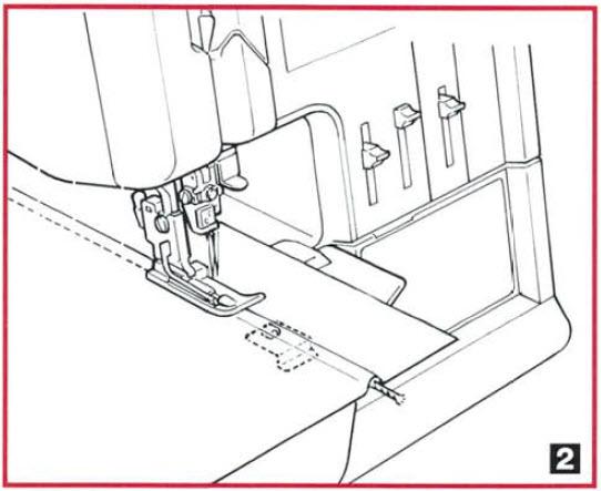 Guide pied ruban, nervure, cordonnet, fil de peche K2 realisation.jpg