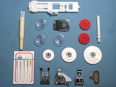 Accessoires de la machine à coudre Singer Confidence 7463