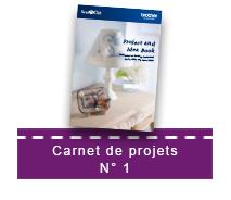 Carnet de projets N°1 pour le ScanNCut