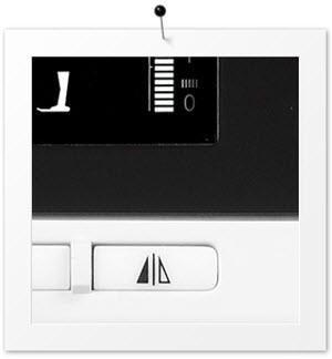 Machine à coudre et à quilter BERNINA 380 - Fonction image miroir