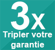 Tripler votre garantie - Ets Stecker - Machines à coudre et à broder