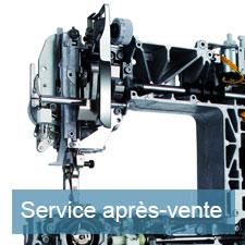 Service après-vente de votre machine à coudre - Stecker