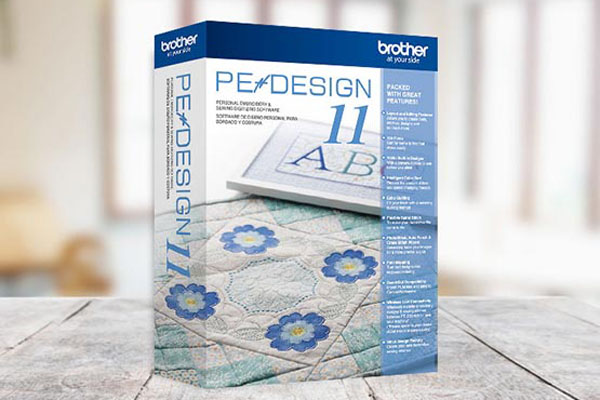 Logiciel de broderie Brother Pe-Design 11