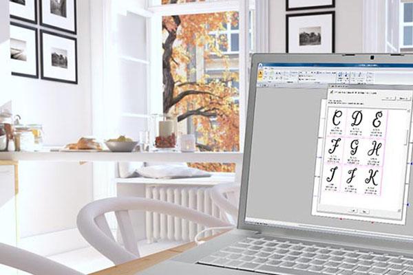 Points de couture décoratifs du logiciel Brother Pe-Design 11