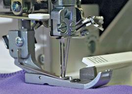 Pénétration verticale de l'aiguille - Babylock Coverstitch 2 - BLCS-2