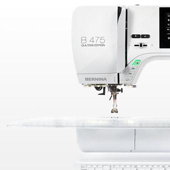 Fonctionnalités automatisées - Machine à coudre Bernina B475 QE Série 4