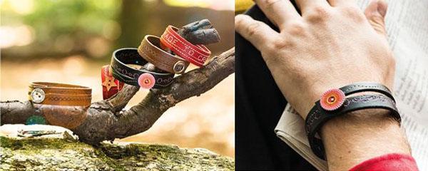 Réalisez un bracelet en cuir avec la nouvelle série 4 Bernina