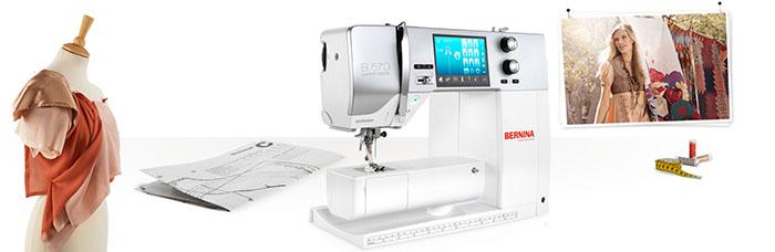 Machine quilt, à coudre et à broder Bernina 570QE