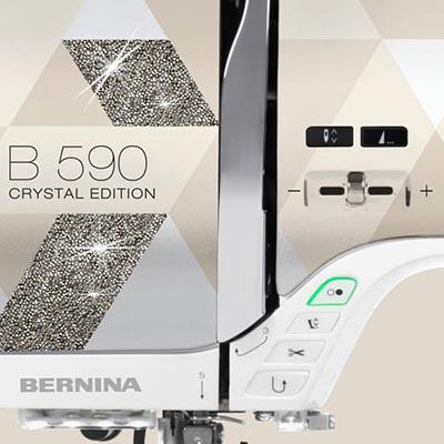 Fonctionnalités automatisées - Bernina 590 Crystal Edition