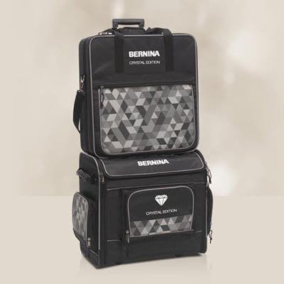 Valises incluses - Bernina 590 Crystal Edition
