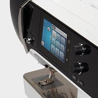 Machine à coudre et à broder Bernina 590 - Un confort optimal pour plus de résultats parfaits