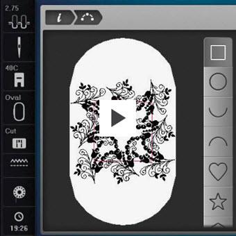 Machine à coudre et à Broder Bernina 880 Plus - Donnez forme à votre imagination