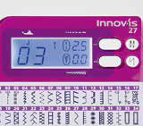 Machine à coudre Brother Innovis 27 - Ecran LCD