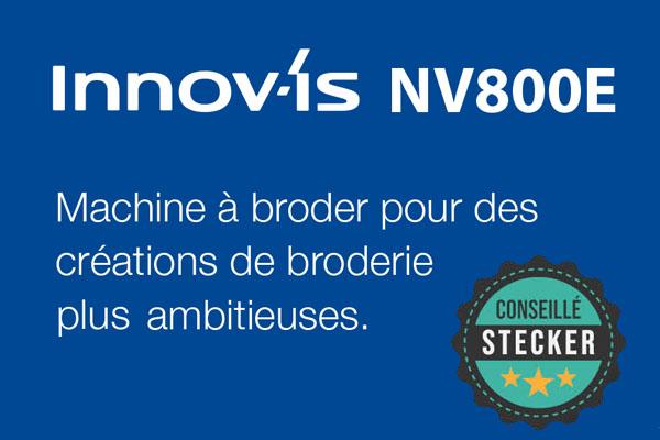 Header Machine à broder Brother Innovis NV800E