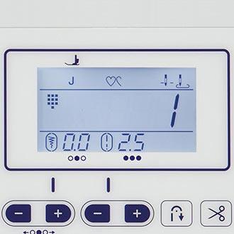 Ecran LCD rétroéclairé - Brother Innovis F410