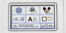 Ecran tactile couleur LCD 9,4 cm