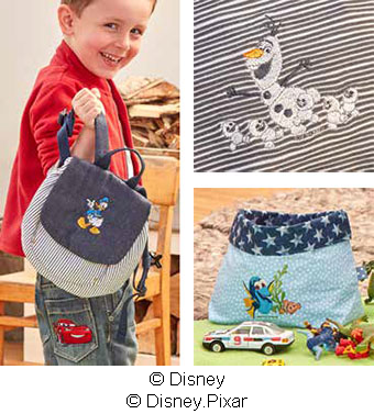 Motifs de broderie Disney - Brother Innovis M240ED