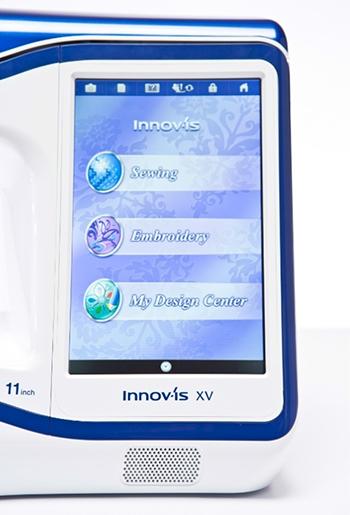 Machine à coudre et à broder Brother Innovis XV - Ecran couleur LCD