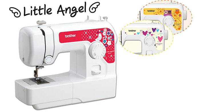 Etiquettes décoratives pour machine à coudre Brother Little Angel