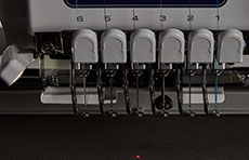 Pointeur lumineux LED pour un positionnement parfait de l'aiguille