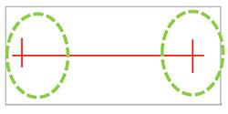 Image numérisée par le ScanNCut Brother CM 900 avant calibration