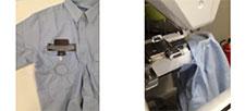 Broderie sur poche de chemise - Machine à broder Brother VR