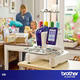 Machine à broder Brother VR