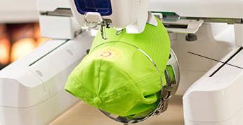 Système casquette 130 x 60 mm PRF3 pour machine à broder Brother VR