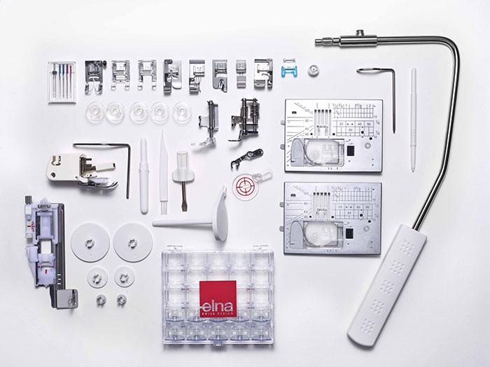 Accessoires de la machine à coudre Elna eXcellence 680