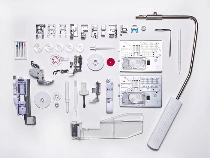 Accessoires de la machine à coudre Elna eXcellence 760 PRO