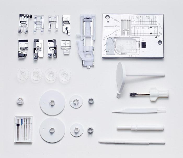 Accessoires de la machine à coudre Elna eXperience 580