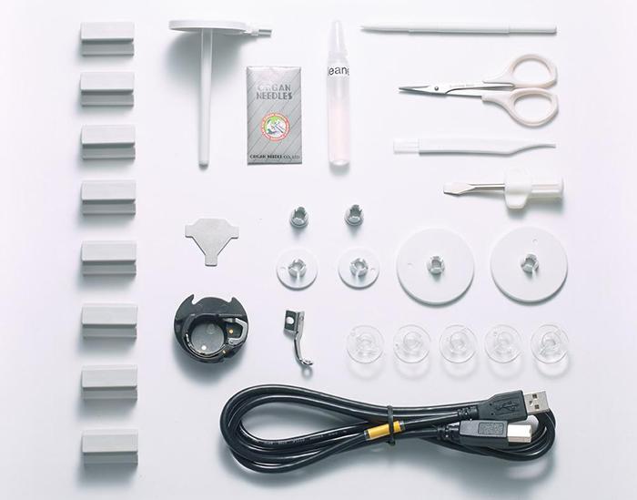 Accessoires de la machine à broder Elna eXpressive 830