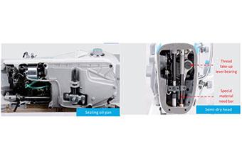 Lubrification - Machine à coudre industrielle Jack A4