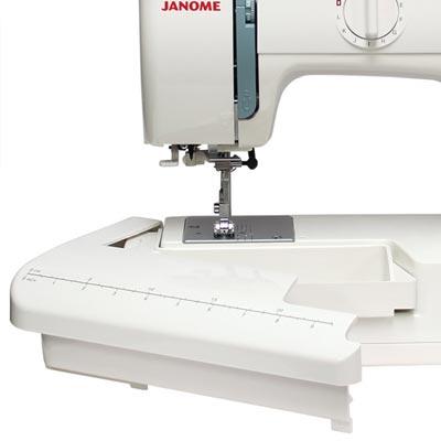 Janome 423S - Table rallonge avec boîte d'accessoires