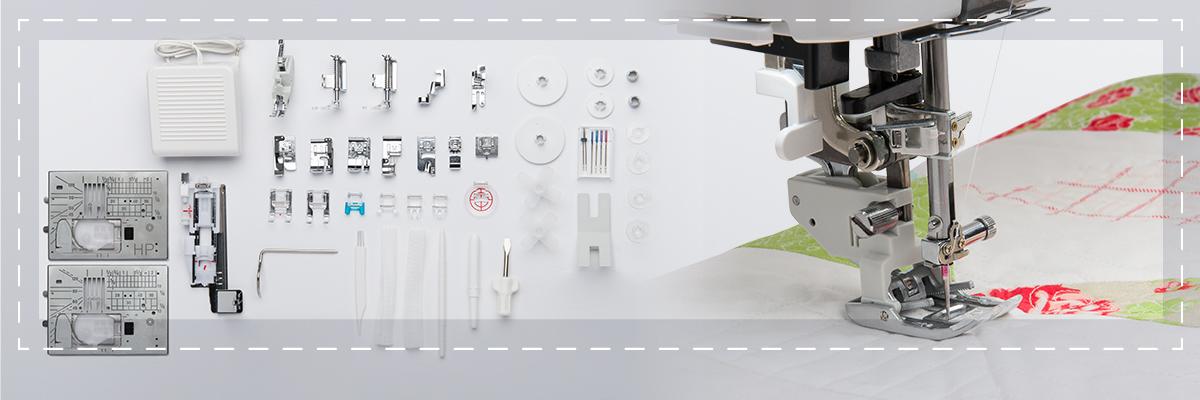 Accessoires et points - Janome Continental M7 Professional