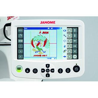 Machine à broder 7 aiguilles Janome MB7
