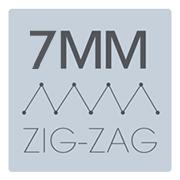 Machine à coudre Janome SKyline S3 - ZigZag de 7 mm
