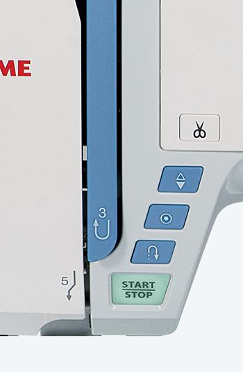 Machine à coudre Janome Skyline S5 - Sélection de points