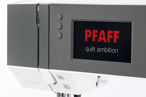 Écran LCD PFAFF® - Machine à coudre Pfaff Ambition 630
