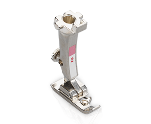 Machine à coudre et à broder 540 - Pied pour surjet 2