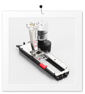 Machine à coudre Bernina 350 PE - Pied pour boutonnière