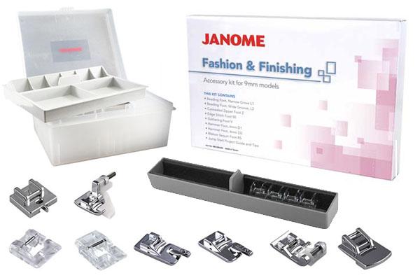 Cadeaux offerts à l'achat de la Janome Skyline S5