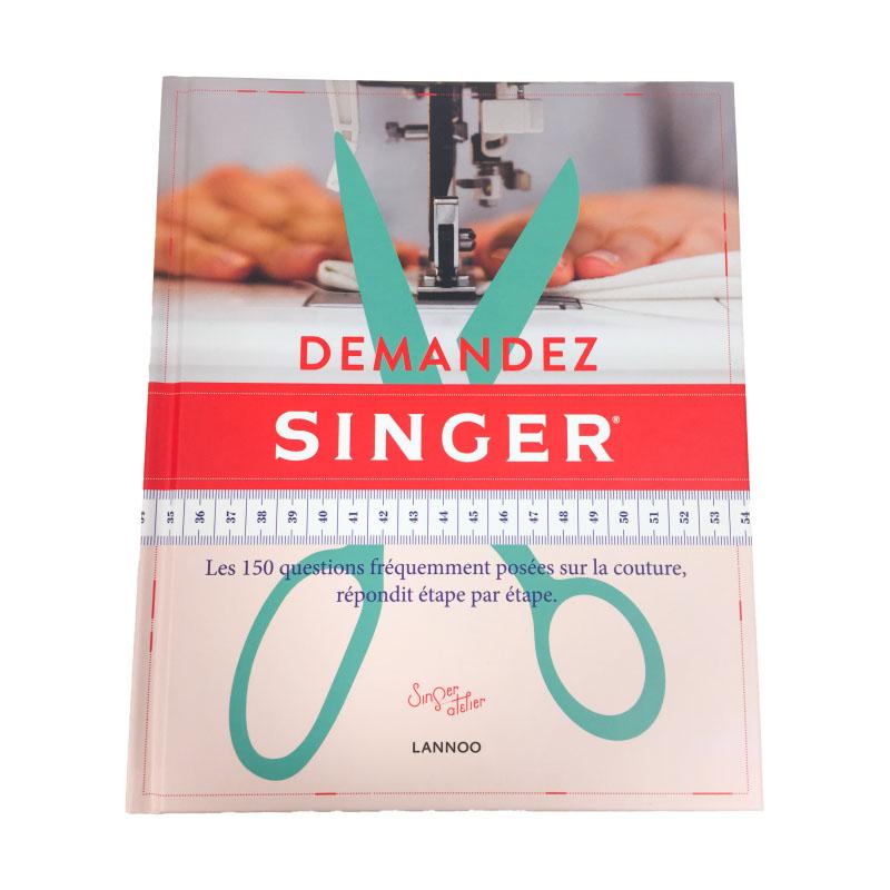 Livre de couture Demandez Singer