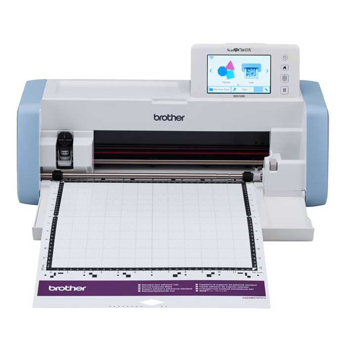 ScanNCut SDX1000 Brother PROMO